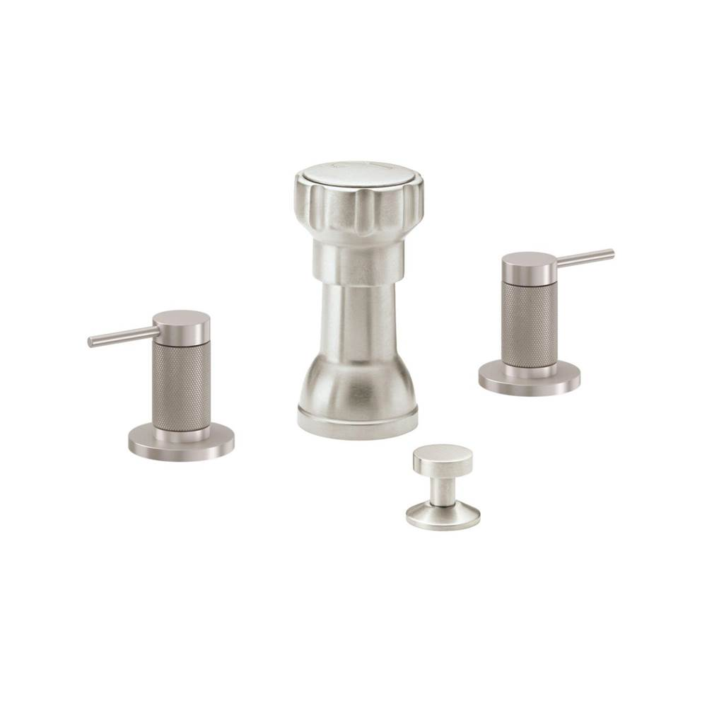California Faucets Bidet Set - Knurled Insert
