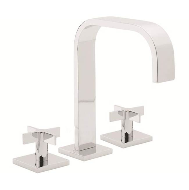 California Faucets 8'' Widespread Lavatory Faucet with 2-1/4'' Diameter ZeroDrain®