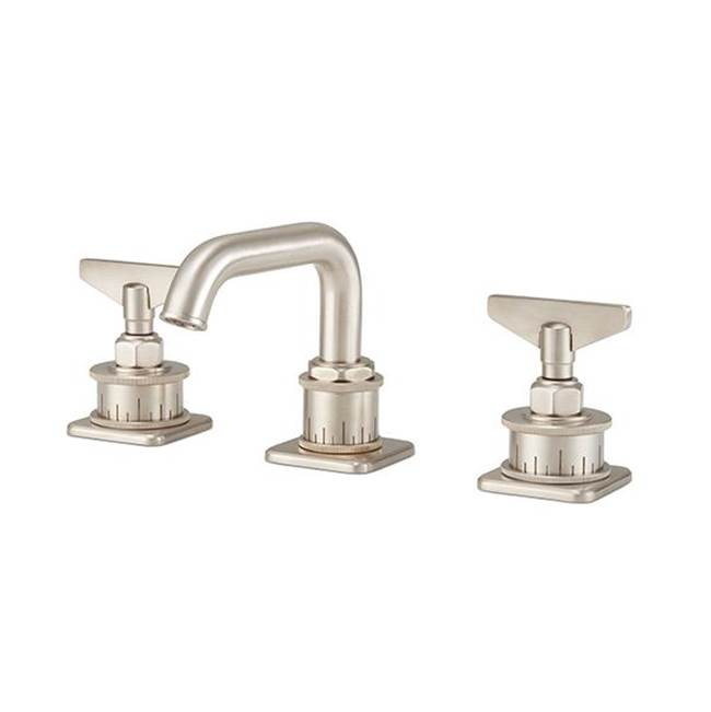 California Faucets Widespread Low Spout - Blade Handle