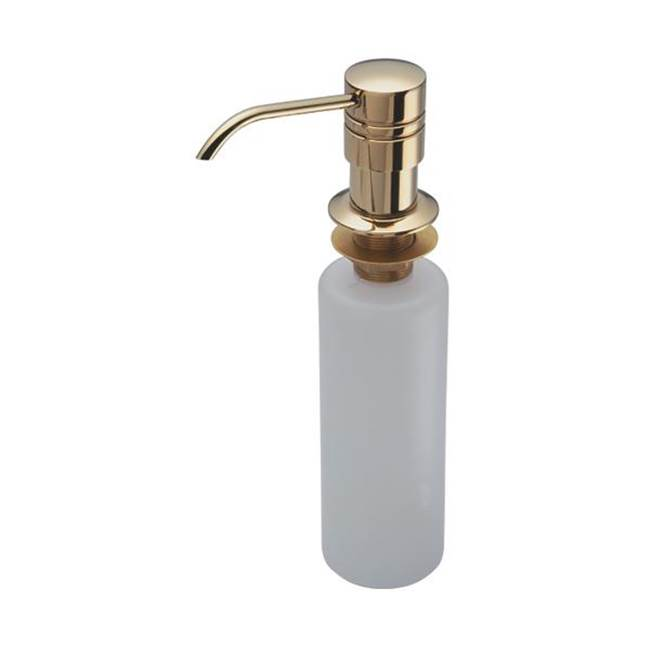 California Faucets Heavy Duty Soap & Lotion Dispenser