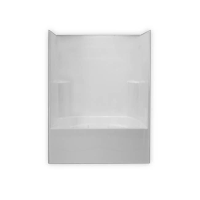 Clarion Bathware 60'' Tub/Shower W/ 21'' Apron - Center Drain