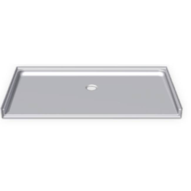 Clarion Bathware 60'' X 33'' Barrier-Free Shower Base W/ 3/4'' Threshold - Center Drain