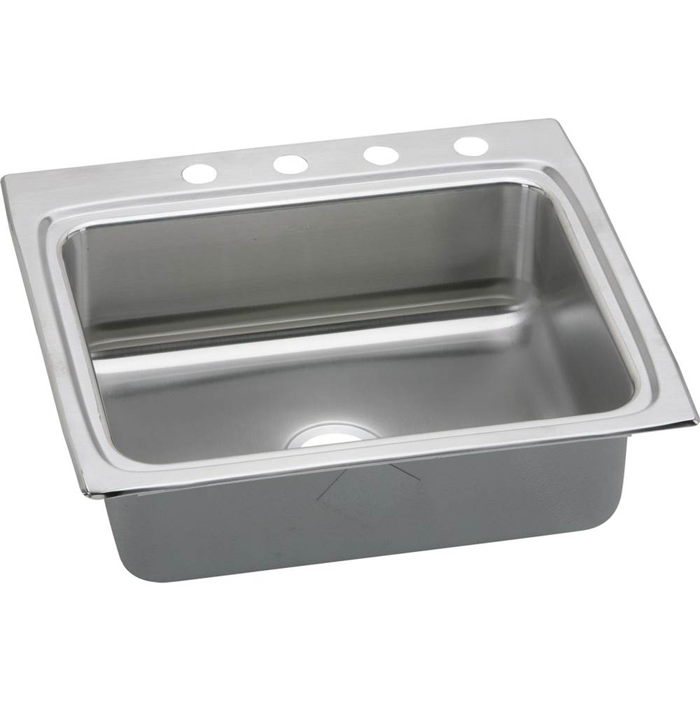 Elkay 18 Gauge Stainless Steel 25'' X 22'' X 8.125'' Single Bowl Top Mount Kitchen Sink