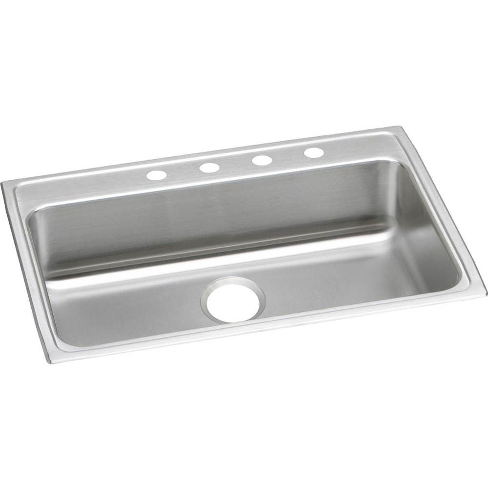 Elkay Elkay Lustertone Classic Stainless Steel 31'' x 22'' x 6'', Single Bowl Drop-in ADA Sink