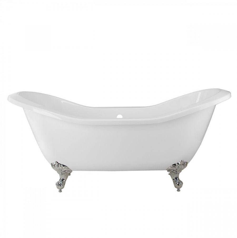 Maidstone Asbury Acrylic Clawfoot Double Slipper Tub