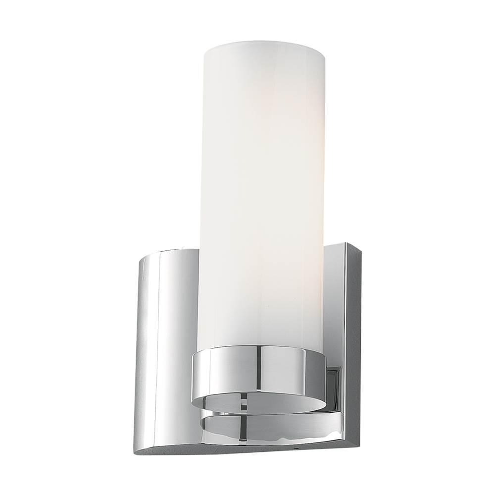 Norwell One Light Chrome Wall Light