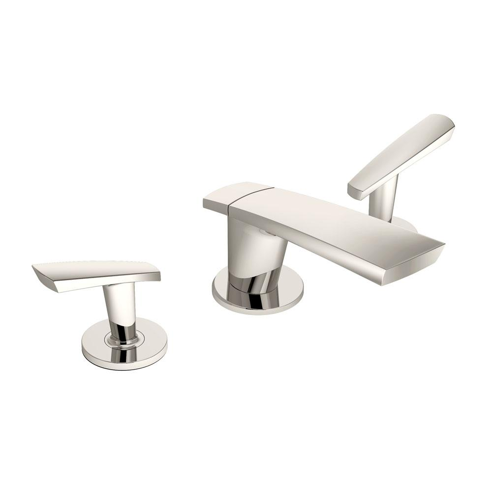 Symmons Naru Widespread 2-Handle Bathroom Faucet in Polished Nickel (1.5 GPM)