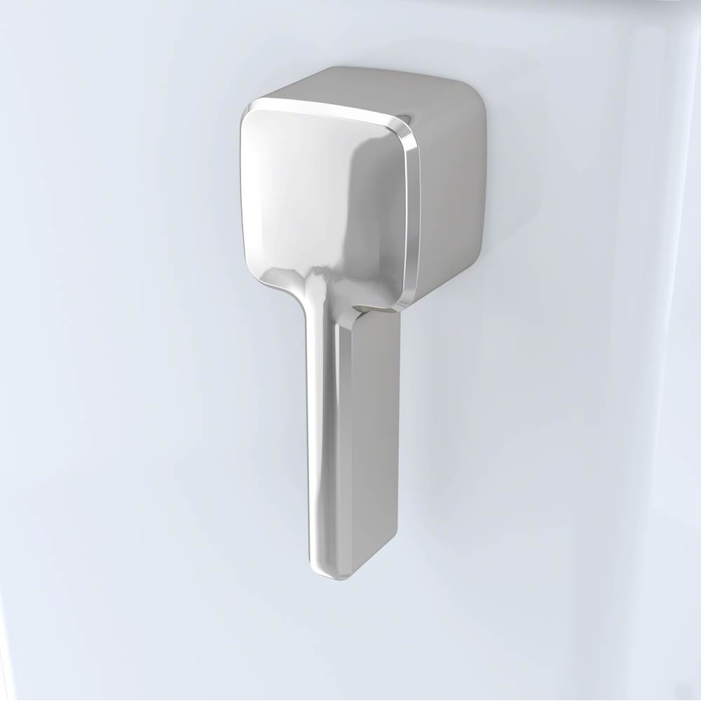 Toto Trip Lever Handle W/ Spud And Mounting Nut, Left Hand, #Pn