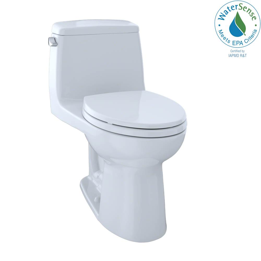 Toto Eco Ultramax Elongated Front 1-Pc Toilet