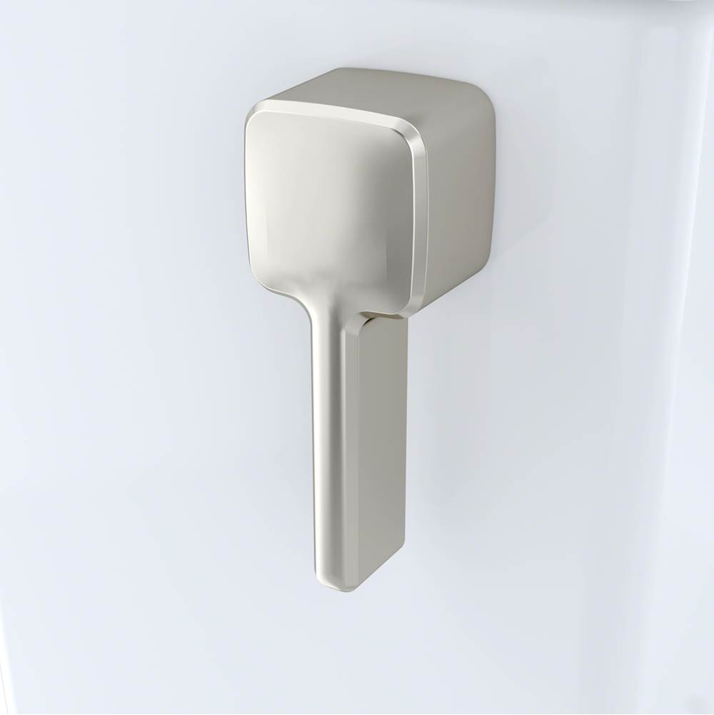Toto Trip Lever Handle W/ Spud And Mounting Nut, Left Hand, #Bn