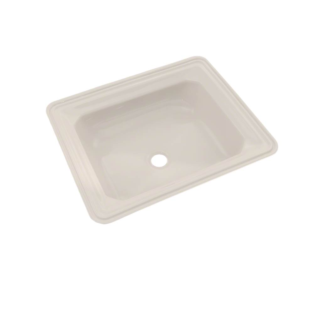 Toto Guinevere® Rectangular Undermount Bathroom Sink with CEFIONTECT, Sedona Beige