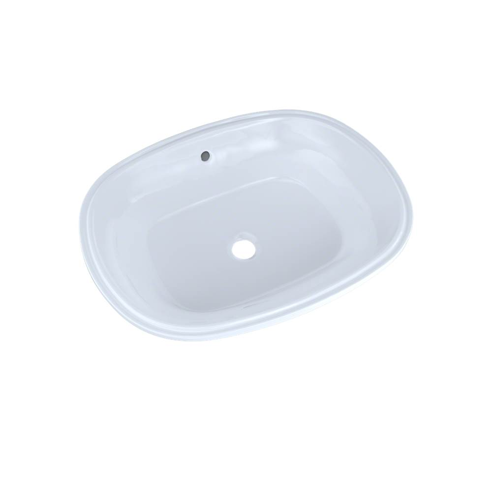 Toto Maris™ 20-5/16'' x 15-9/16'' Oval Undermount Bathroom Sink with CEFIONTECT, Cotton White
