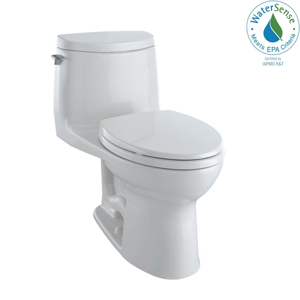 Toto Ultramax Ii 1G 1-Pc Toilet Col White - Cefiontect Finish