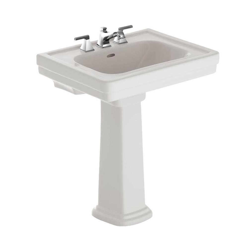 Toto Promenade 8'' Center Lav & Ped Colonial White