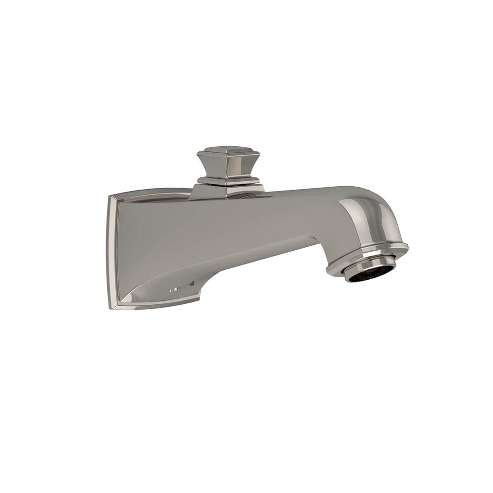 Toto Connelly™ Wall Tub Spout with Diverter, Polished Nickel
