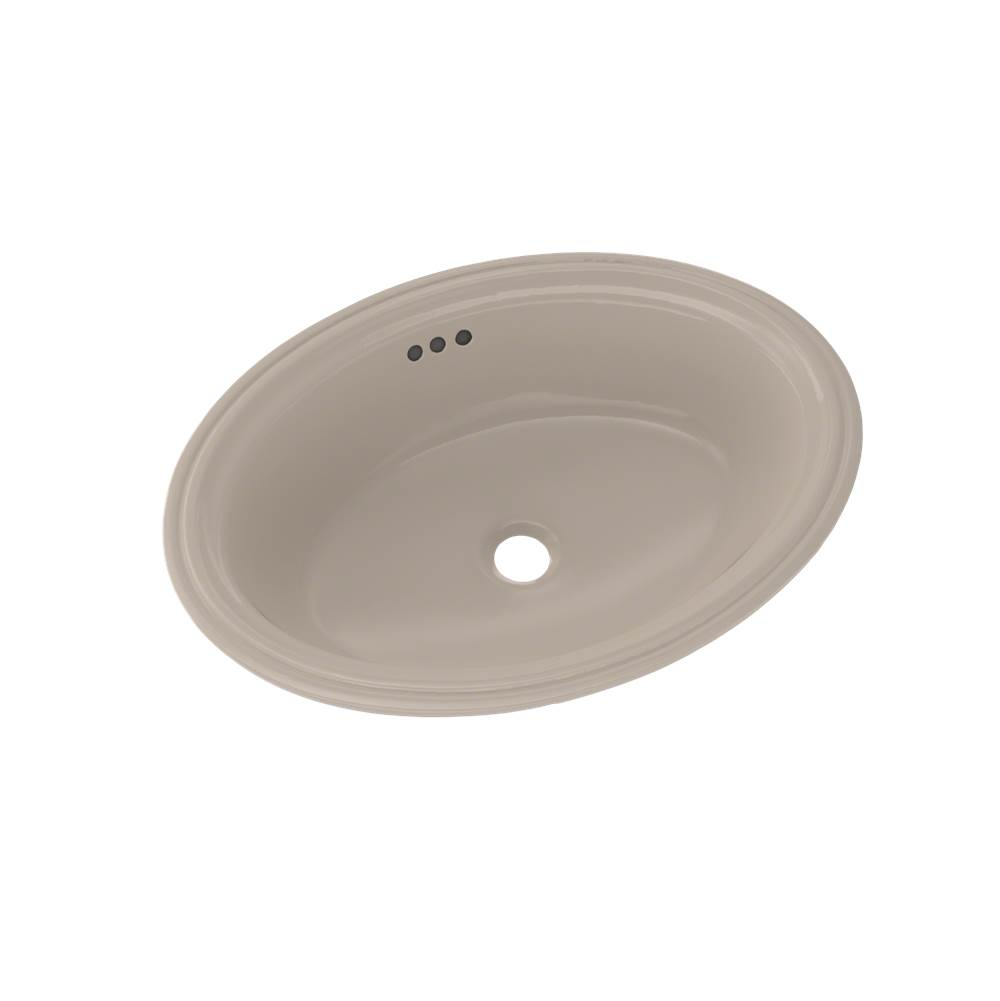 Toto Dartmouth® 18-3/4'' x 13-3/4'' Oval Undermount Bathroom Sink, Bone