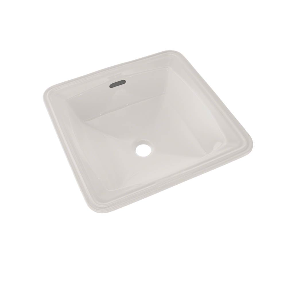 Toto Connelly™ Square Undermount Bathroom Sink with CEFIONTECT, Colonial White